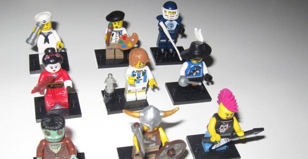 Lego Minifiguren Serie 4