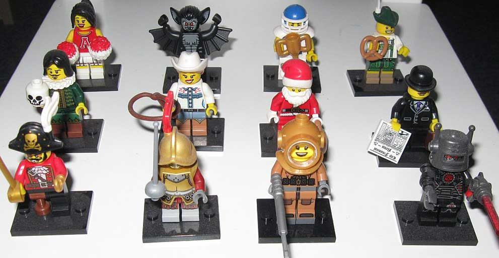 Lego Minifiguren Serie 8