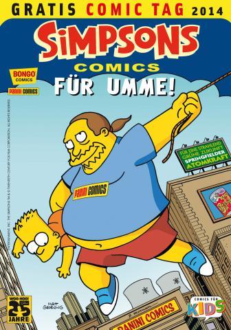Panini: Simpsons Comics für umme!