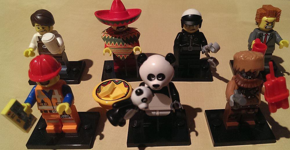 Der Legofilm wirft seine Schatten voraus: Meine Figuren der Serie 12