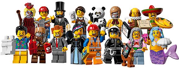 Lego: Die komplette 12. Serie