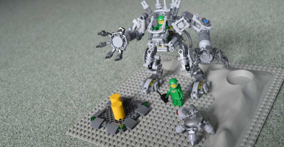 Neues Projekt: Lego Classic Space Rebuilt
