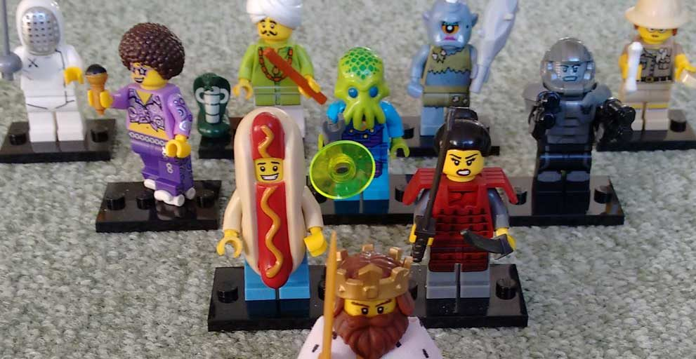 Lego Minifiguren Serie 13
