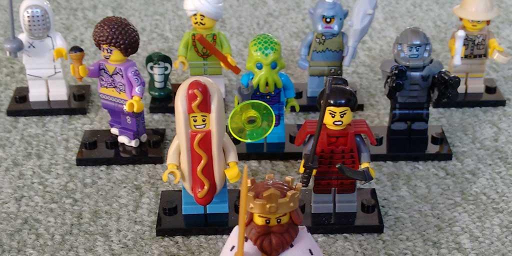 Meine Lego-Minifig-Sammlung Serie 13