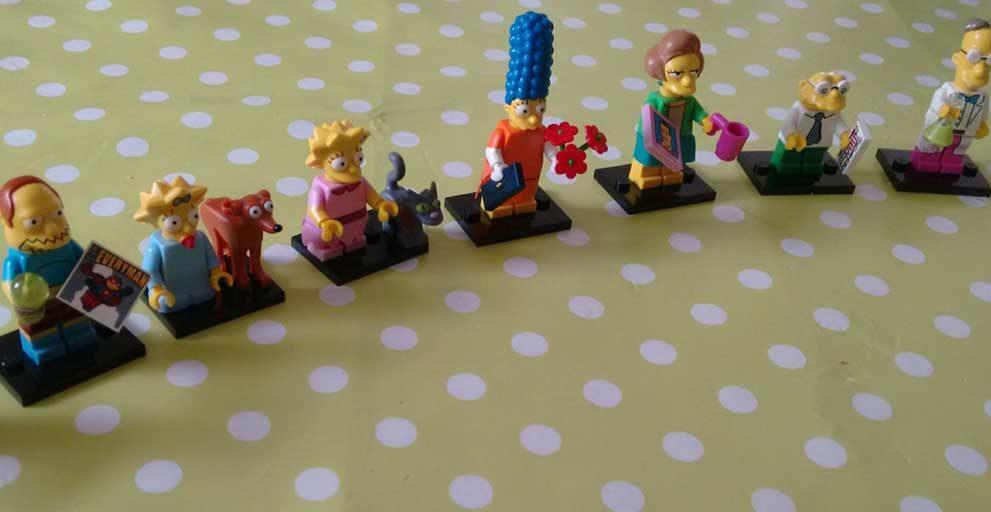 Lego Minifiguren Simpsons-Sonder-Serie 2