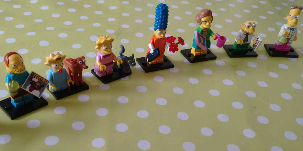 Lego Minifigs Simpsons Sonder Serie 2