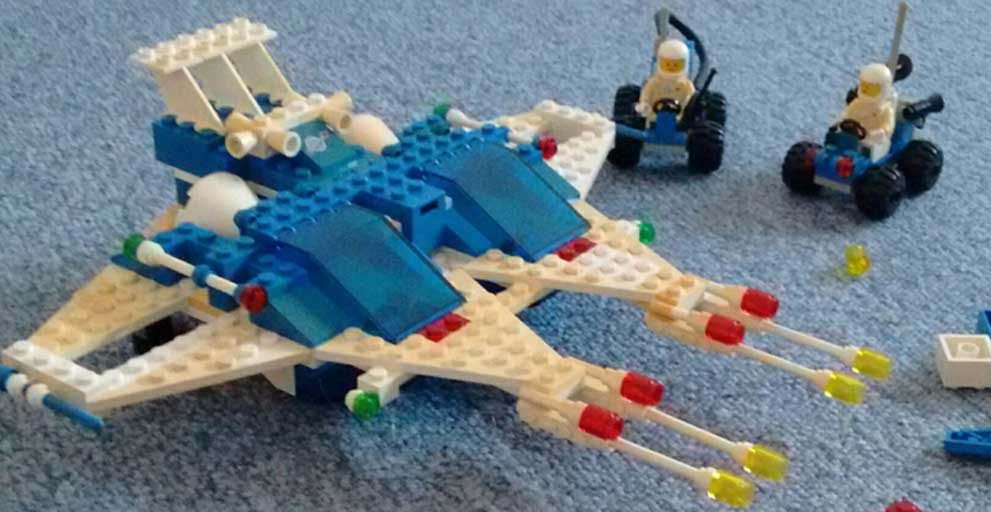 Lego Classic Space Rebuilt: 6980-1 Galaxy Commander