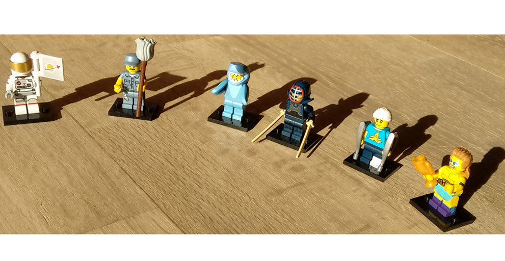 Lego Minifiguren Serie 15