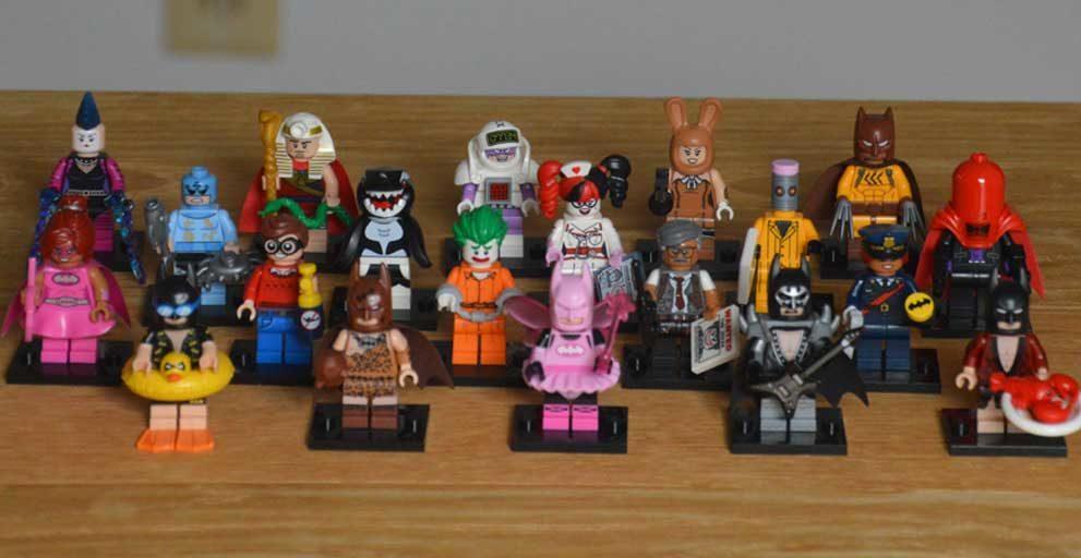 Lego Minifiguren Lego-Batman-Sonder-Serie