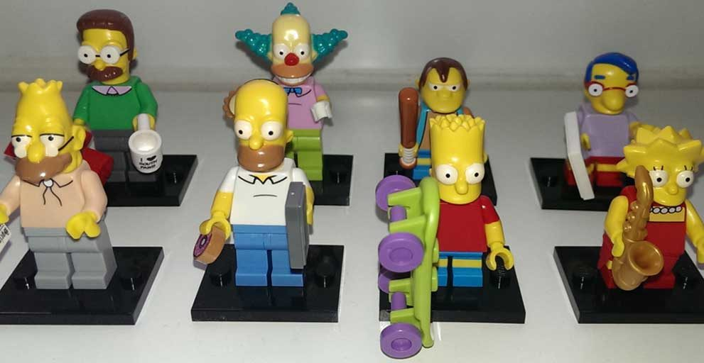 Lego Minifiguren Simpsons-Sonder-Serie