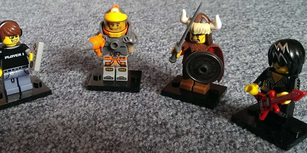 Lego Minifigs Serie 12