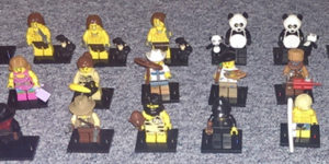 Meine doppelten und dreifachen Minifiguren