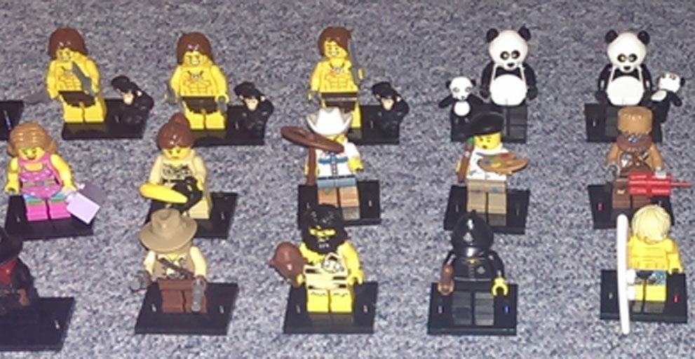 Lego Minifiguren doppelt und dreifach